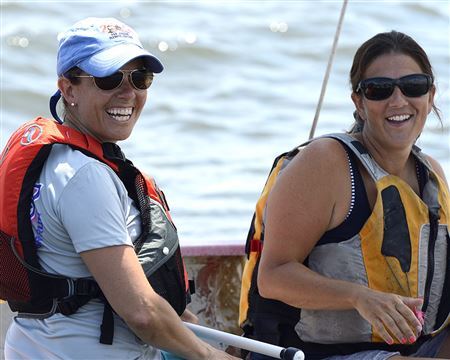 This annual event is for women sailors.