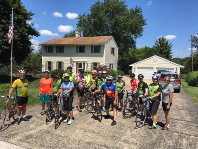 Progressive Dinner Ride, July 2016