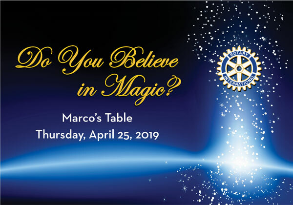 The Magic of Rotary - Annual Fundraiser 2019