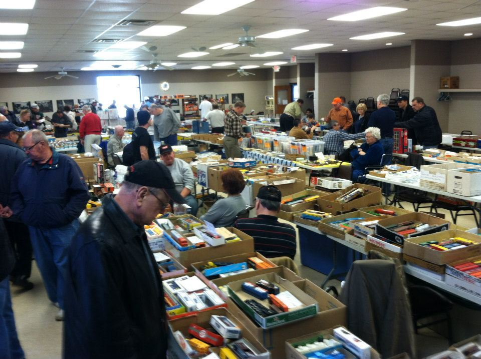April 2013 Swap meet at the Stone City VFW in Joliet, IL