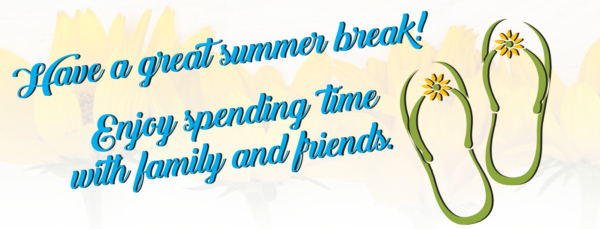Have a Great Summer from MBN