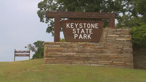 Keystone Park Sign