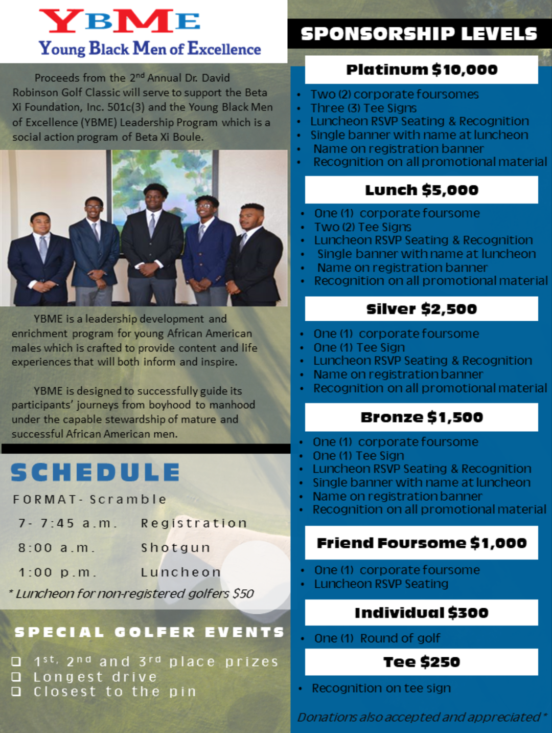 2018 David Robinson Golf page 2