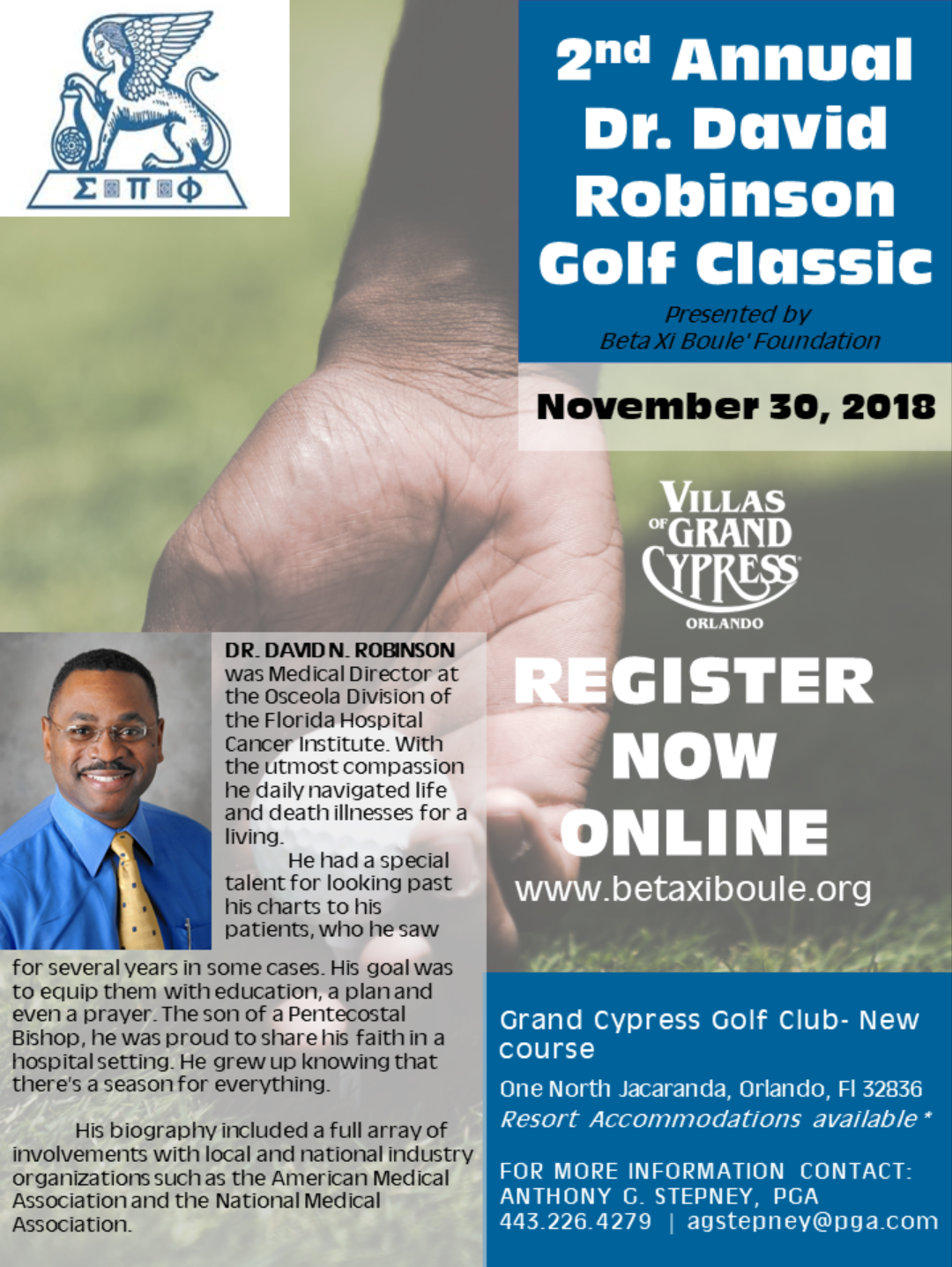 2018 David Robinson Golf page 1