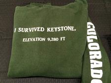 I Survived keystone Hoodie - click to view details