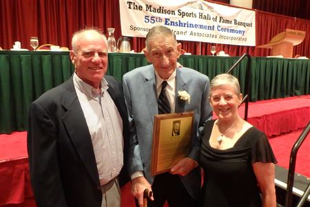 Bill Mattison's induction to the Madison Sports Hall of Fame