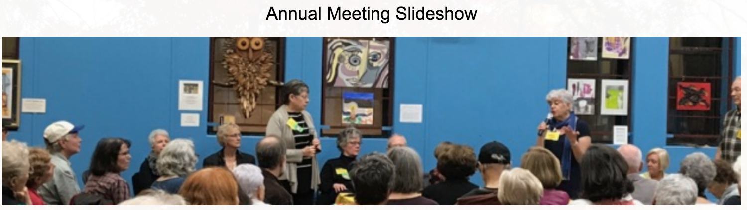 Annual meeting slideshow 2017