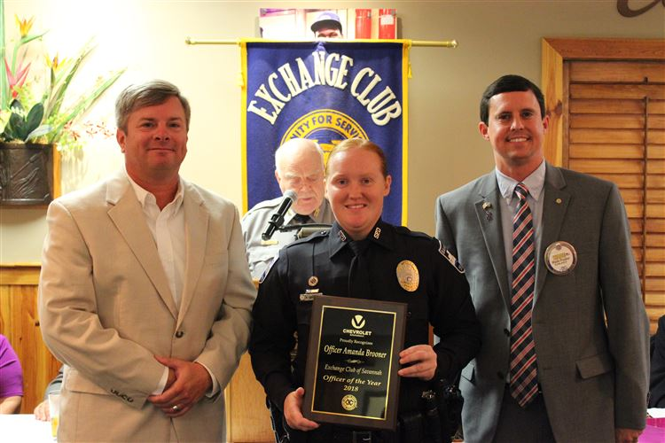 Officer Amanda Brooner, Officer of the Year