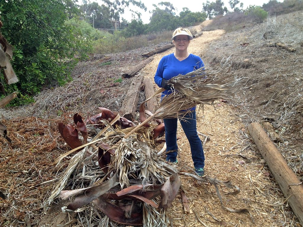 Ruffin Canyon Cleanup September 2014
