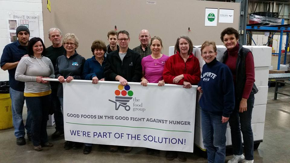 2016 Food Group Service Event
