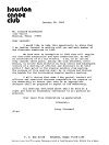 1985-01 Letters to BOD