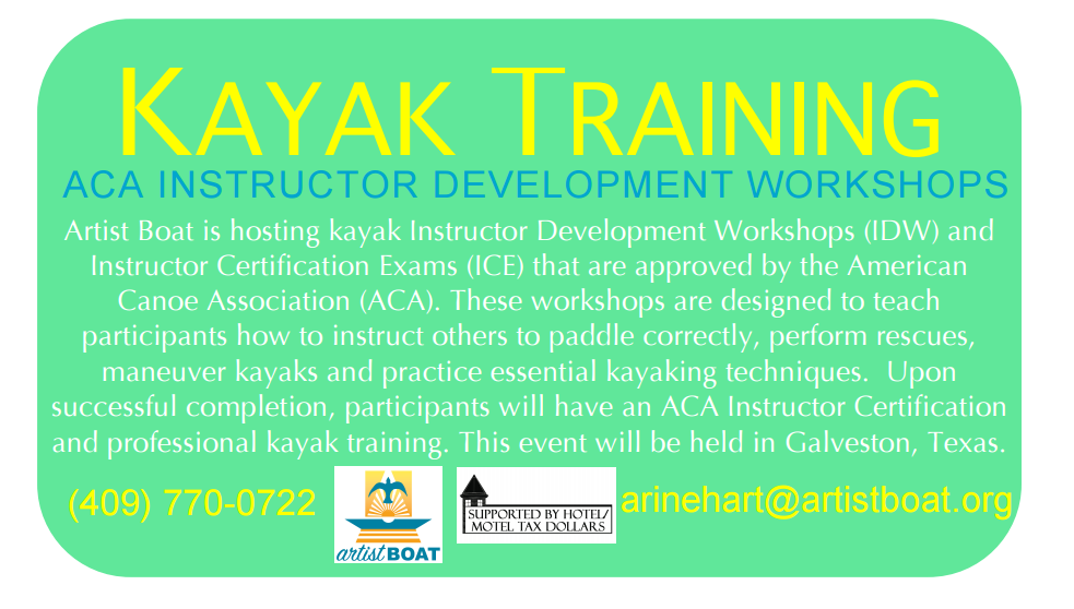 Aca Instructor Certification Level 2 Coastal Kayaking Course
