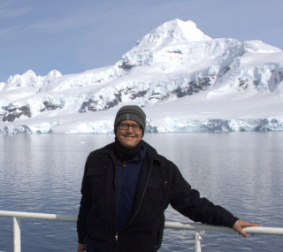 Greg Walker in Antarctica