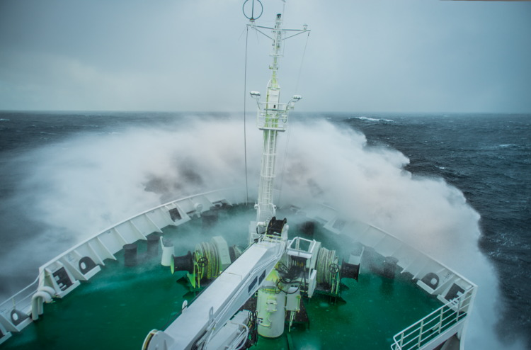 The Drake Shake on the Drake Passage