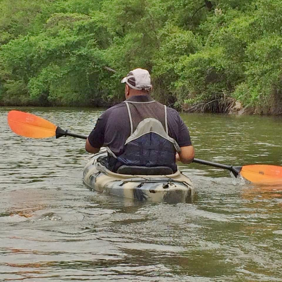 Limestone Bluffs Paddling Trail, Navasota River, Fort Parker