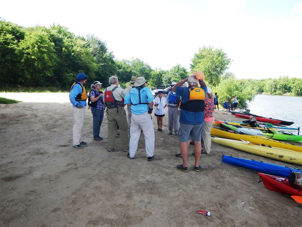 Sierra club Paddle in the Trinity Delta, led by Tom Douglas and Linda Shead