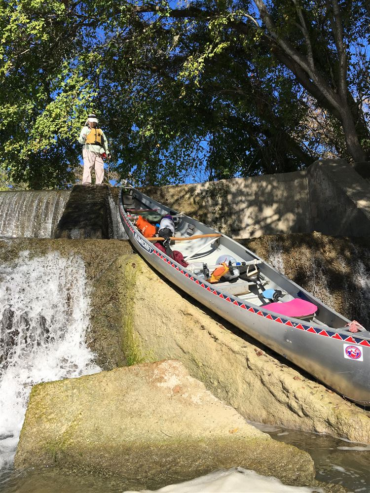 10-22-16 San Marcos HCC paddle descending from Staples Dam to Fentres