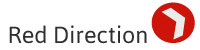 Red Direction logo