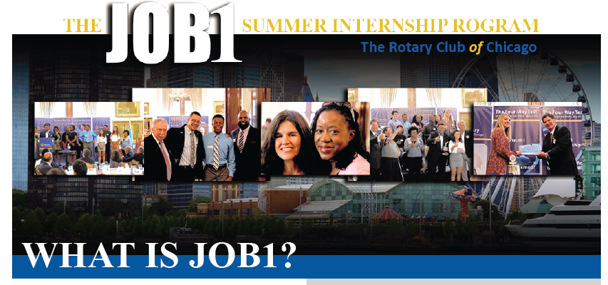 The Rotary Club of Chicago has provided summer youth employment and  training for over twelve years, assisting Chicago Public Schools junior and  seniors.
