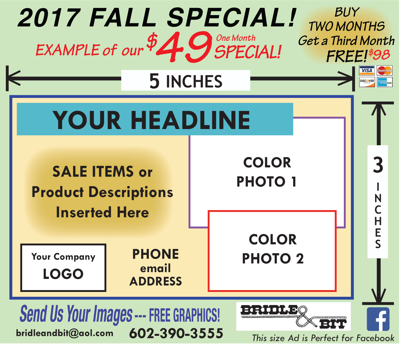 Fall Advertising Specials