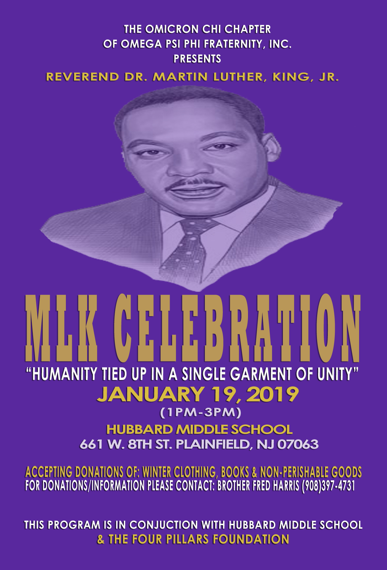 2019 MLK Celebration Flyer