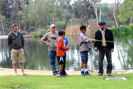 Walteria Elementary School in Torrance, CA raised fish for the WFF Trout in the Classroom program. They released their fish on March 19 at Kenneth Hahn State Recreation in Los Angeles.