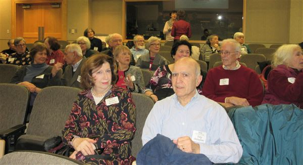 Nearly one hundred East Falls Village members and guests attended the 2018 Winter Gathering on January 21 at Jefferson University's Tuttleman Center.