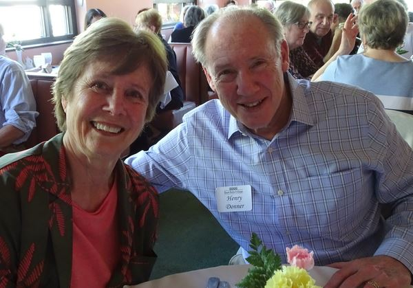 East Falls Village volunteers were honored at a luncheon held at CinCin Restaurant in Chestnut Hill.