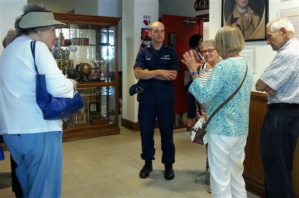 Twenty Villagers visited the Philadelphia Sector Coast Guard Base on June 20, 2016.