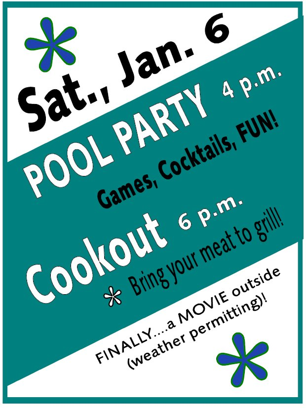 Pool Party and Cookout