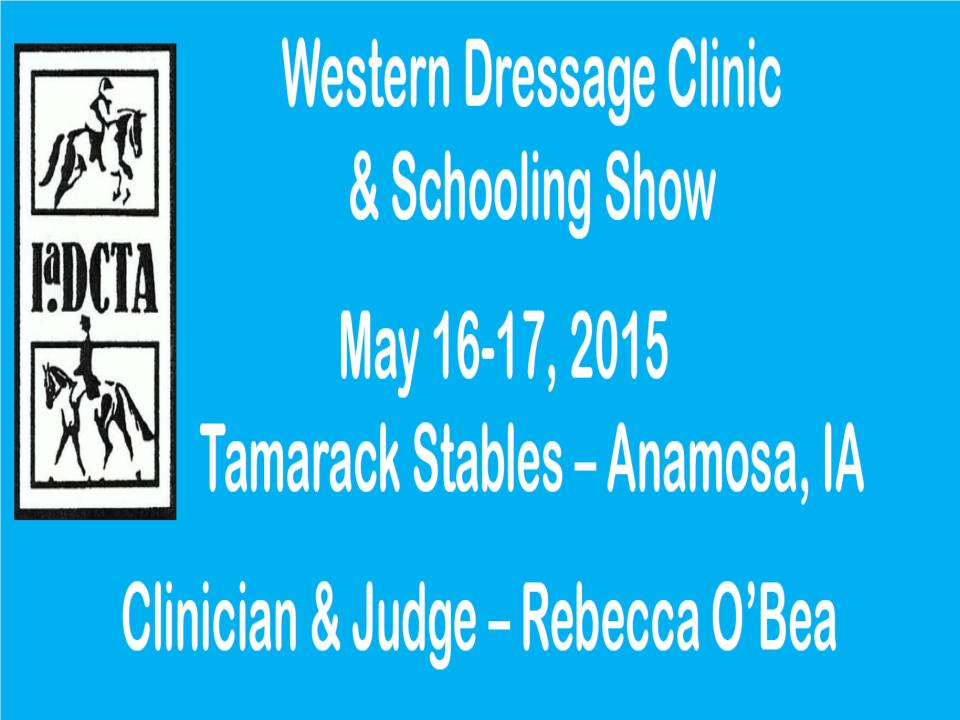 May 2015 Western Dressage