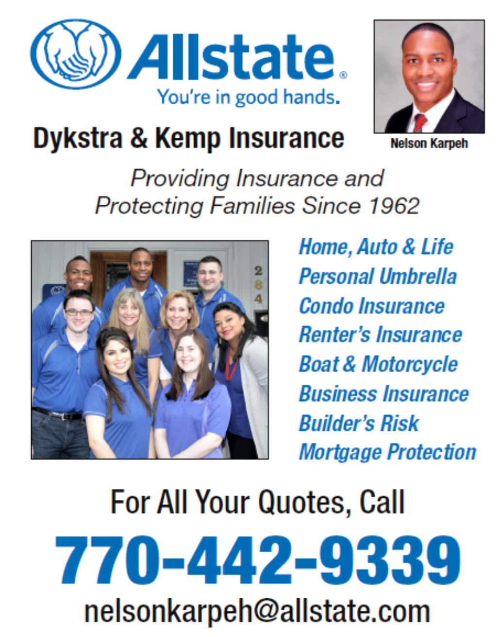 Allstate, Dykstra & Kemp Insurance