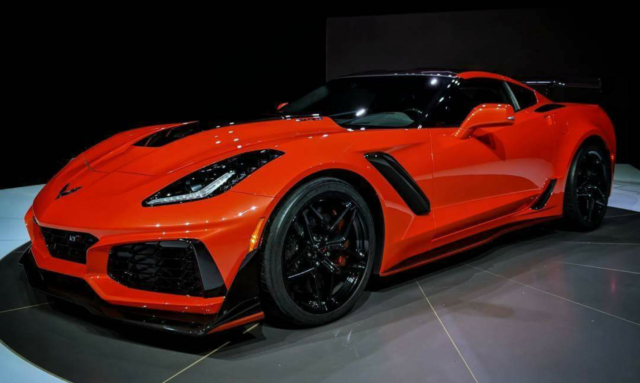 ZR1 2019 front