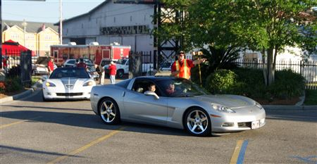Our club hosted annual open car show benefiting St. Jude Children's Research Hospital.