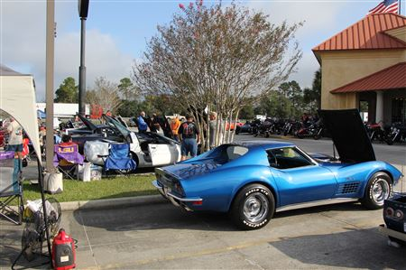 Annual Bayou State Corvette Show in Scott, LA.