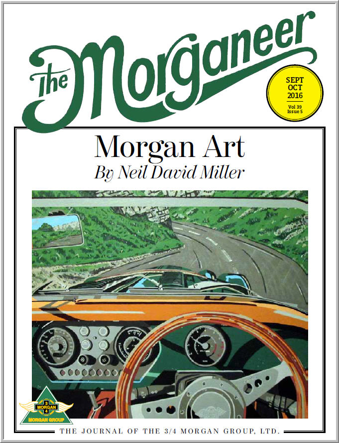 Morgan Sports Car Cooperstown