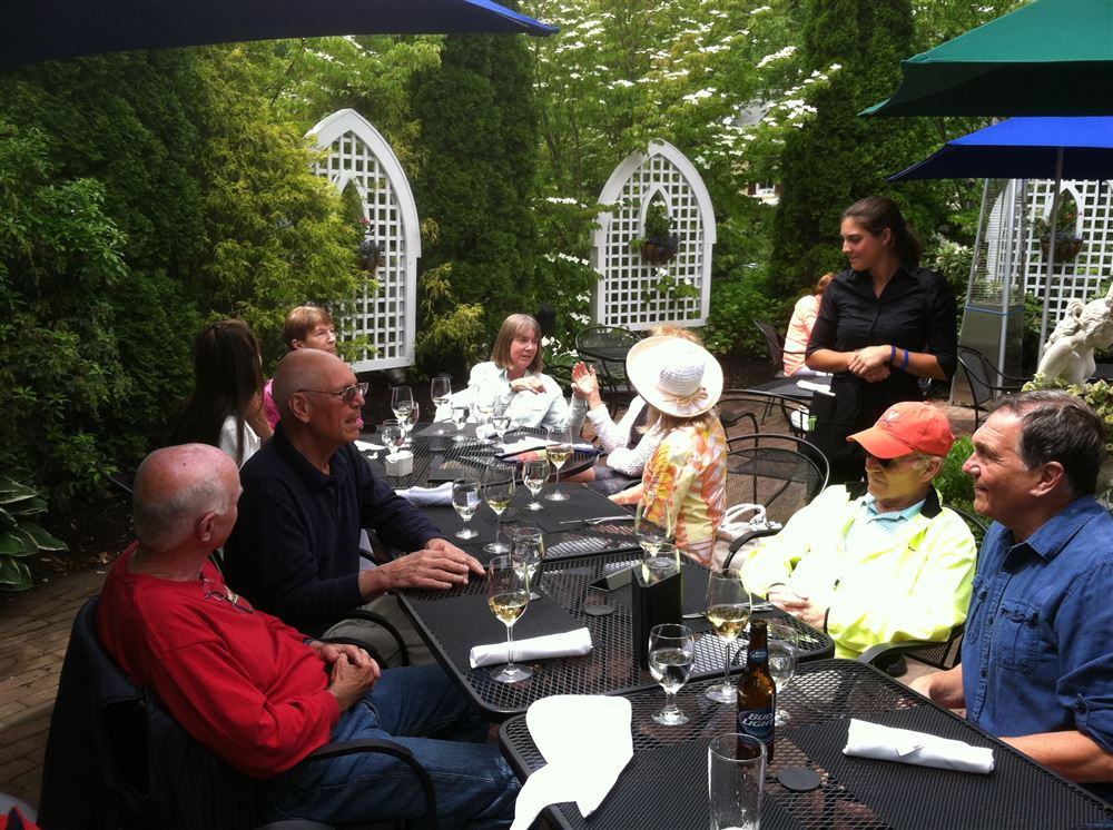 2015 Lunch at the Belfry in Sandwich on Cape Cod