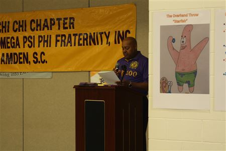 2nd Annual Boys to Men Conference Gamma Iota partners with Chi Chi Chapter of Omega Psi Phi located in Camden, SC.