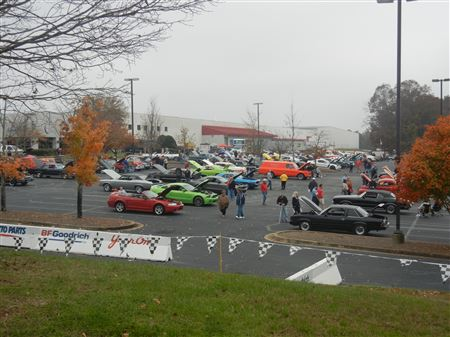 Several club members drove down to YearOne in Georgia to meet up with some Georgia Z Club members at the Braselton Bash.  There were also some other Z owners there.