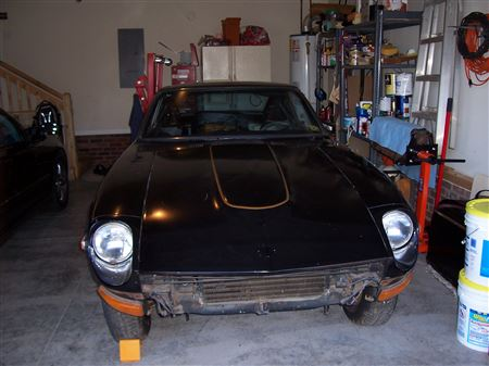 260Z bought at neighborhood garage sale.