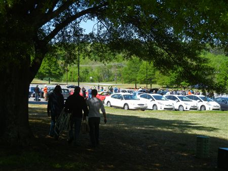 The Clemson Motorsports Festival held on the Greenville Tech Campus