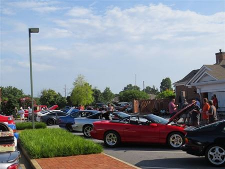 The inaugural Cars and Coffee of Easley event