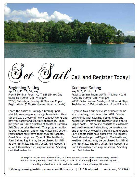 Learn to Sail Spring 2016