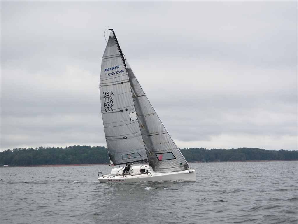 Keelboat Fleet Race #4 October 12, 2014