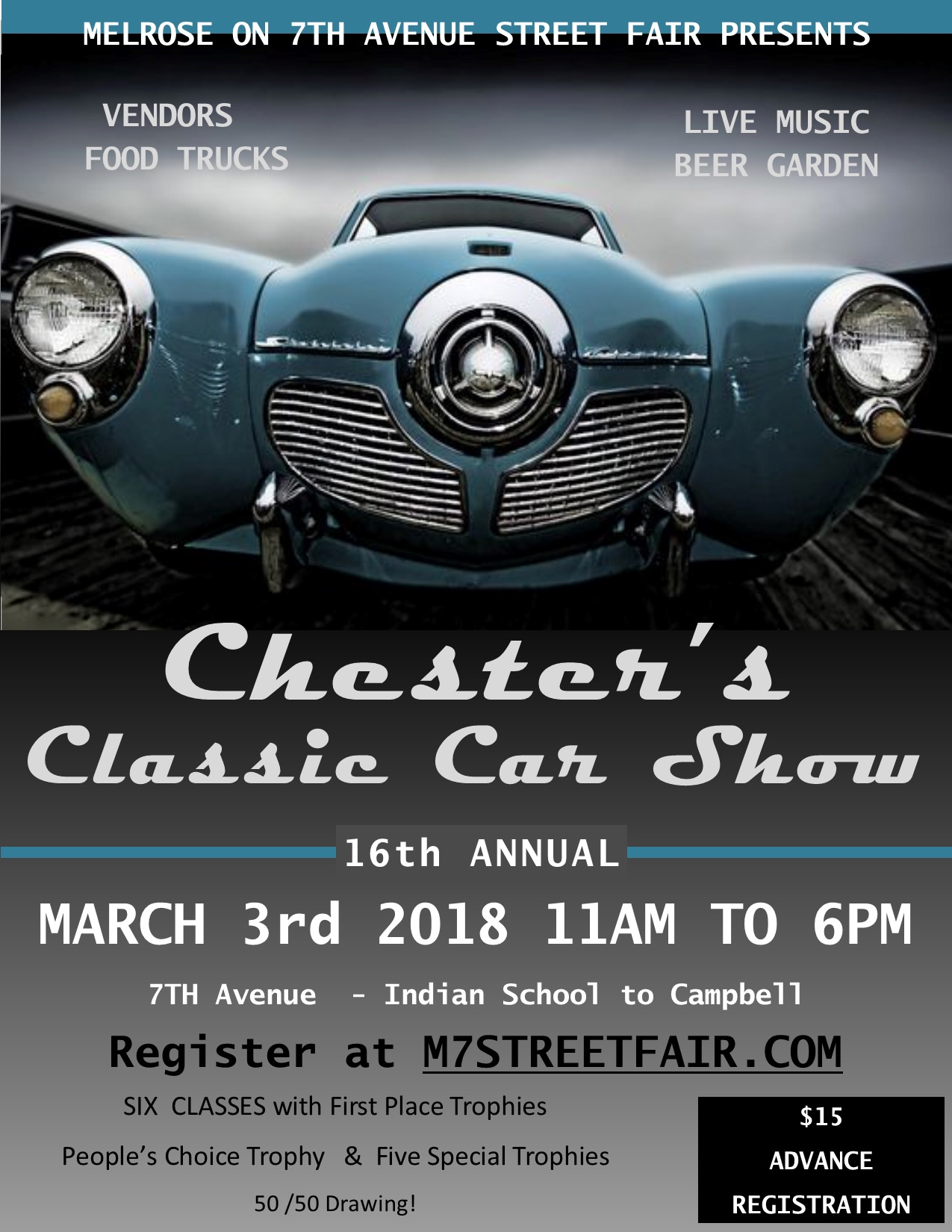 16th Annual Chester\'s Classic Car Show - Events - 7th Avenue ...