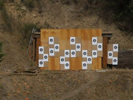 100 Yard 22 Trophy Shoot 2014
