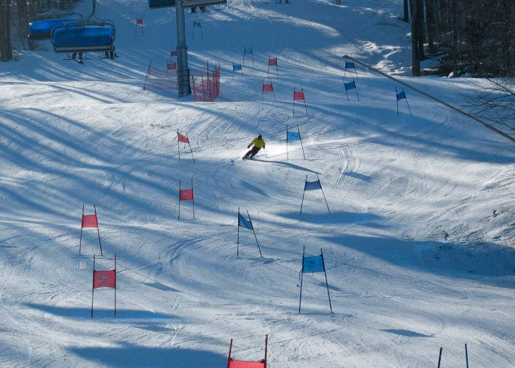 PSC racer at Mount Snow
