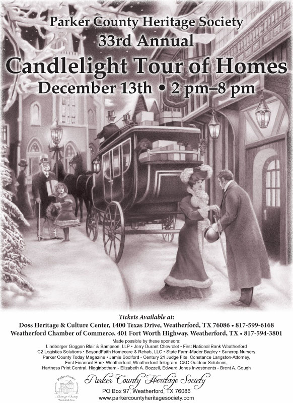 33rd Annual Candlelight Tour of Homes