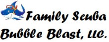 Family Scuba Bubble Blast LLC Logo