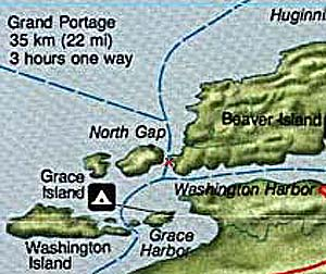 North Gap Map
